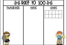 math - place value 100/10/1's