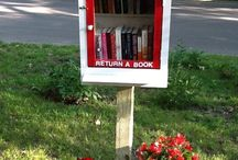 My favorite Little Free Library Designs / I'm going to set up a LFL in my town...and I'm trying to decide what it should look like. These are my favs so far. www.littlefreelibrary.org  / by Nancy Naigle