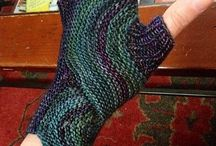 Knitted Gloves / Mittens / Armwarmers