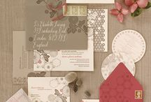 WEDDING INVITATION CARDS/THANK YOU CARDS