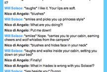 My Solangelo otp