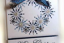 cards - Christmas - snowflakes