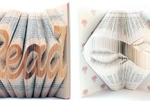 Book folding / Origami with books