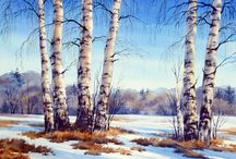 Téli táj (paintings)