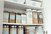 kitchen organization / Ottimizzare lo spazio in cucina... Con ergonomia e divertimento! E soprattutto un ambiente child safe!