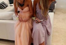 wedding bridesmaids colors/ ideas / bridesmaides colors