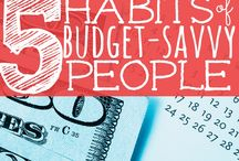 Budget Management / Tips on how to live your life on a budget and not be in debt