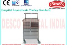 Anesthesia Trolleys / The anesthesia trolley used in the hospitals today is mainly designed to organize the anesthesia tools systematically and to maintain them over a period of time, offering its services to the patients as and when the anesthesia care is required.