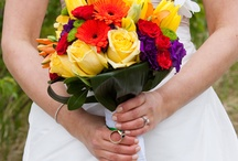 Beautiful Bridal Bouquets / These flower combinations rock / by Trina Lewis