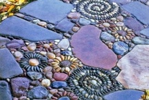 Pebble mosaic / by Amy Milliken