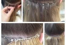 Alongamento cabelos