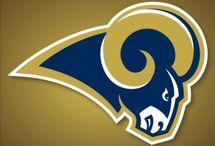 St Louis-LA Rams / by marty freeman