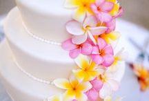 Deco mariage frangipanier / The frangipani flower as wedding theme for your deco