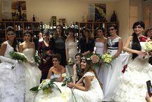 Sfilata abiti da sposa Favole di Seta AmoreaprimavistaTorino 16-1-2016