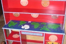 painting a kids world... / children's furniture / by Shelia Morris