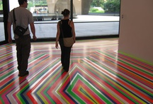 """Artistic Uses of Floor Tape"""