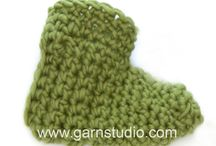 pantufa  crochet