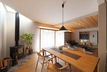 KAB住宅展示場モデル / 熊本初!リノベーションの二世帯総合住宅展示場。 住宅の性能を向上し、住み心地を良くするリノベーション。 家族構成や暮らしに合わせた住まいをご提案します。  1階は親世帯及び共有スペース、 2階は子世帯の空間です。 家族がコミュニケーションをとる 団らんの空間とそれぞれの プライベートの空間を大切にしました。