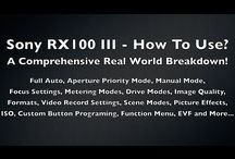 sony RX 100 series