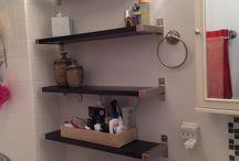 bathroom redecoration / by Morgan Loya