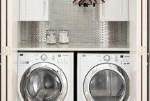 basement laundry design