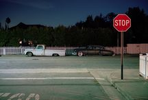 aes; empty streets / los pueblos donde nada sucede.   suburban gothic aesthetic.