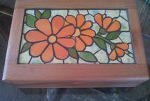 Caixas de mosaico