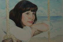 Моя живопись и графика / http://vk.com/club63930187 моя группа В контакте. Принимаю заказы на портреты,картины,копии