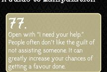 guide to manipulation (useful stuff)