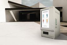 Smart Vending Audi / Smart vending de InnovaPos fabricada para Audi