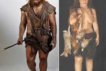 Prähistorische Menschen