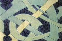 celtic art nouveau design
