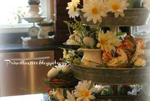 The one with tiered trays