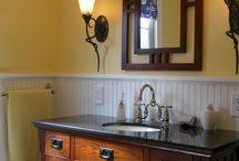 Craftsman style bath