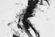 Charcoal draws