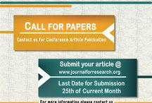 J4R Call for Papers / Call for Paper: J4R Useful for Engineering Students: (M.E, M.Tech, Phd.) J4R : Journal for Research (Issn : 2395 - 7549 ) Publication Charges : 1050 -/ Like us: www.facebook.com/journal4research Visit us: www.journalforresearch.org Indexed in: Google Scholar, Academia.edu, Issu, DRJI, Docstock, Slideshare & Many Others...