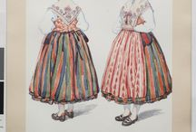 Sweden- Värmland and Närke / Folkdräkt och folkliga textilier från Värmland och Närke. Traditional clothing and textiles from two Swedish provinces, Värmland and Närke.