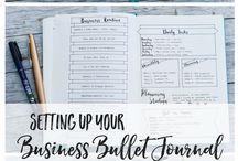 Business Bullet Journel