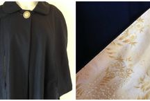 Capes / Fully lined capes with a cosy collar