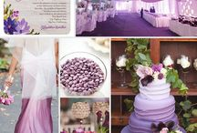 Wedding theme: Radiant Orchid (2014 Pantine