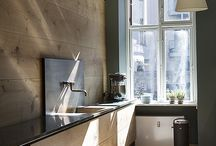 Kitchen Dreams / Individual, archaic, Natural, organic, warm meets cold, Inspiration for My Dream Kitchen