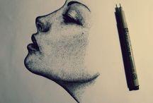 micron pen art