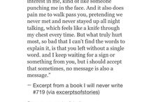 E.Break up quotes
