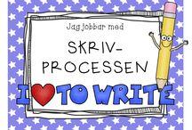 Stöd vid skrivprocessen