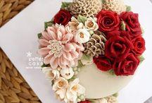 Λουλουδένιες Τούρτες