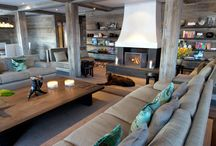 Modern Rustic Chalet / by Amy Larson Pearson