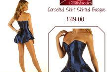 Corseted Skirt / .