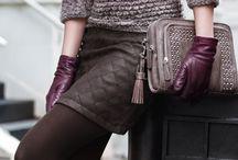 mini skirt and stocking