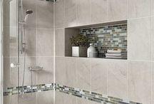 banheiros e azulejos