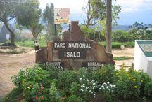 Parc National Isalo / Le parc national de l'Isalo est un massif montagneux de grès jurassique